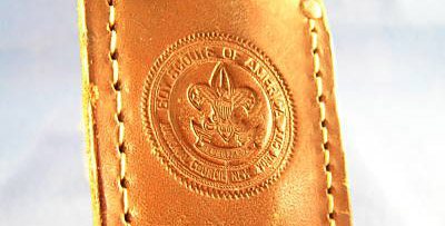 Emblem on sheath