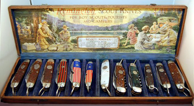 Group Photo of Remington Knives